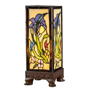 Artistar Stolná lampa KT180029 štýl Tiffany štyri podstavce