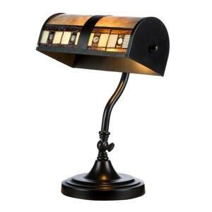 Artistar Stolná lampa KT4613 v dizajne Tiffany