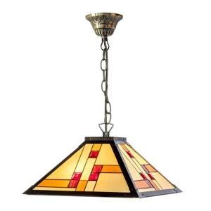 Artistar Závesná lampa KT1836-40+C2 v štýle Tiffany