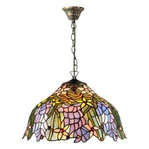 Artistar Závesná lampa KT1082+C2 v štýle Tiffany