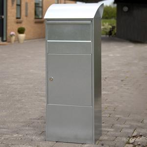 Juliana Poštová schránka so stojanom Allux 820G, sivá