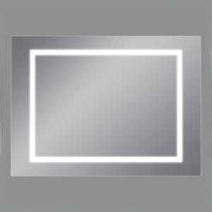 ACB ILUMINACIÓN Nástenné LED zrkadlo Mul, 110 x 75cm, 4000K
