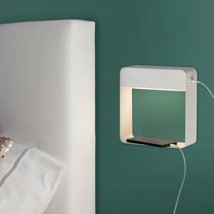 ACB ILUMINACIÓN Nástenné LED svietidlo Denver s nabíjačkou USB