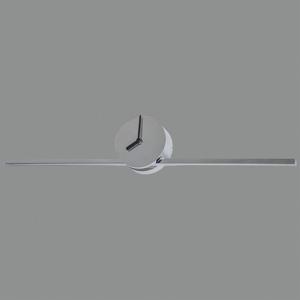ACB ILUMINACIÓN Kúpeľňové LED svetlo Tubus integrované hodiny