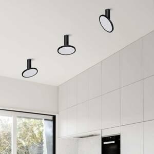 ACB ILUMINACIÓN Stropné LED svietidlo Morgan, pohyblivé, čierne