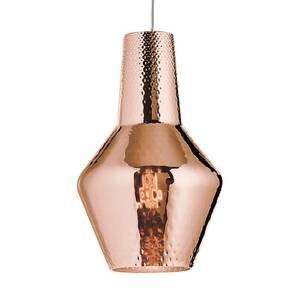 Ailati Závesná lampa Romeo 130cm ružovo-zlatá metalická