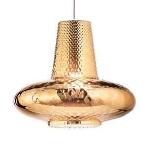 Ailati Závesná lampa Giulietta 130cm staro-zlatá metal.
