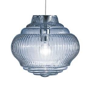 Ailati Závesná lampa Bonnie 130cm svetlomodrá
