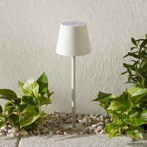 Ailati LED svetlo s hrotom do zeme Poldina biele 60cm