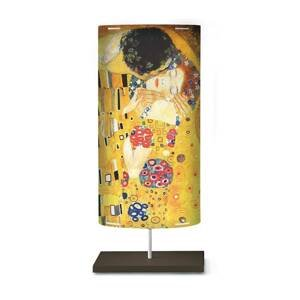Artempo Italia Umelecký motív na stojacej lampe Klimt III