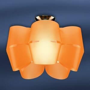 Artempo Italia Stropné svietidlo Sky Mini Alien oranžové
