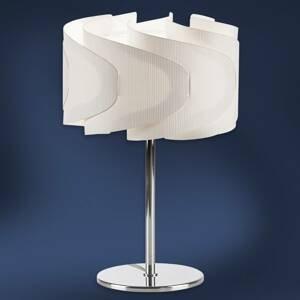 Artempo Italia Stolná lampa Lumetto Ellix v drevenom vzhľade