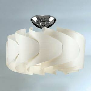 Artempo Italia Stropné svietidlo Sky Mini Ellix drevený vzhľad