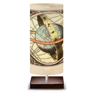 Artempo Italia Globe – stolná lampa v dizajne glóbusu