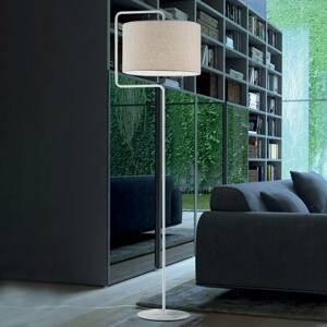 Artempo Italia Stojaca lampa Morfeo tienidlo textilné krém