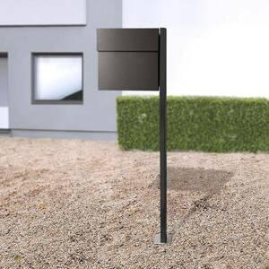 Absolut/ Radius Letterman IV poštová schránka so stojanom čierna