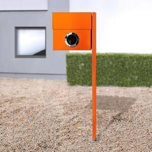 Absolut/ Radius Poštová schránka Letterman XXL stĺp oranžový
