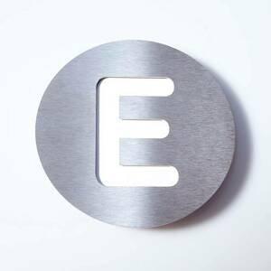 Absolut/ Radius Číslo domu z ušľachtilej ocele Round – E