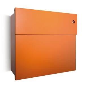 Absolut/ Radius Poštová schránka Letterman IV, zvonček, oranžová