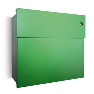 Absolut/ Radius Poštová schránka Letterman IV zvonček, zelená