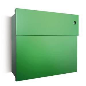 Absolut/ Radius Poštová schránka Letterman IV modrý zvonček/zelená