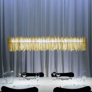 Absolut/ Radius Z paličiek vyrobené LED závesné svietidlo Hayashi
