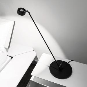 Absolut/ Radius Stolná LED lampa Basica 930 C flexibilná v čiernej