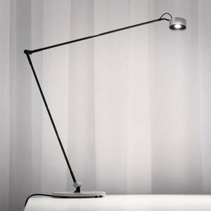 Absolut/ Radius Stojaca LED lampa Basica 930 E s konzolou striebro