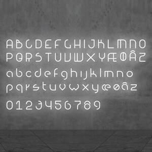 Artemide Artemide Alphabet of Light malé písmeno na stenu g