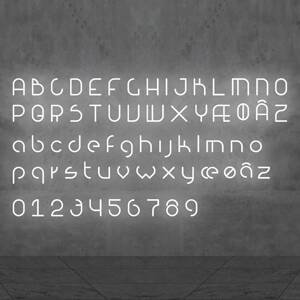 Artemide Artemide Alphabet of Light malé písmeno na stenu l