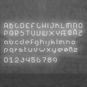 Artemide Artemide Alphabet of Light malé písmeno na stenu r