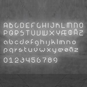 Artemide Artemide Alphabet of Light malé písmeno na stenu æ