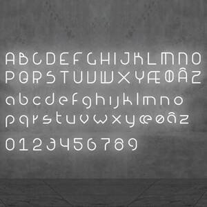 Artemide Artemide Alphabet of Light svetlo s číslom 1