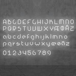 Artemide Artemide Alphabet of Light svetlo s číslom 5
