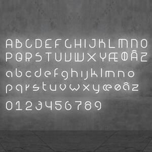 Artemide Artemide Alphabet of Light svetlo s číslom 7