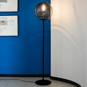 Artemide Artemide Vitruvio stojaca lampa stmiev., čierna