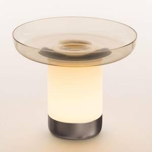 Artemide Artemide Bontà stolná LED lampa, sivá doska