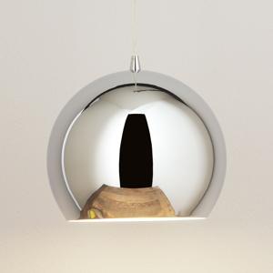 Aluminor Závesná lampa Bulle chróm
