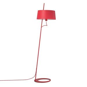 Aluminor Stojaca lampa Bolight v červenej