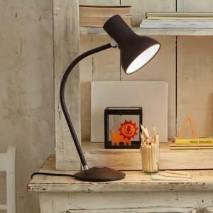Anglepoise Anglepoise Type 75 Mini stolná lampa, hnedo-čierna