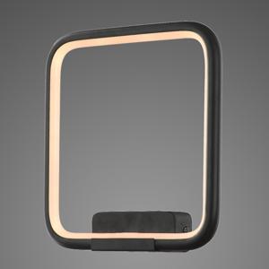 ALTAVOLA DESIGN Závesné LED svietidlo LA079 hranaté čierne 3000K