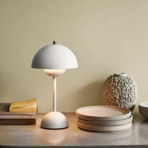 &TRADITION &Tradition Flowerpot VP9 stolná lampa biela matná