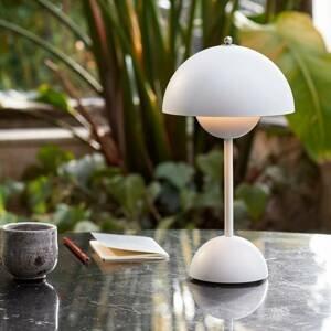 &TRADITION &Tradition Flowerpot VP9 stolná lampa biela