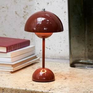 &TRADITION &Tradition Flowerpot VP9 stolná lampa červenohnedá