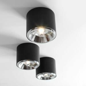 ALDEX Stropné svietidlo Bot, čierne, 1-plameňové