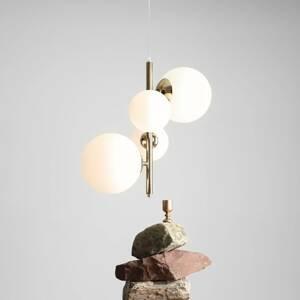 ALDEX Závesná lampa Balia, 4-plameňová, zlatá