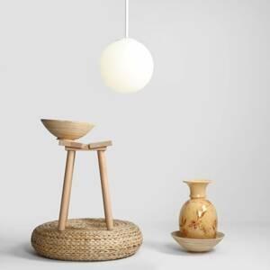 ALDEX Závesná lampa Balia, 1-plameňová, biela