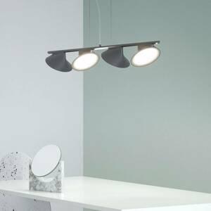 Axo Light Axolight Orchid závesné LED svietidlo 4-pl. sivé
