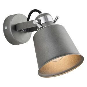 ARGON Nástenné svietidlo Kerava, 1-plameňové, antracit