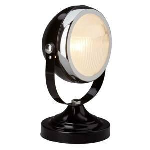 Brilliant Stolná lampa Rider, čierna
